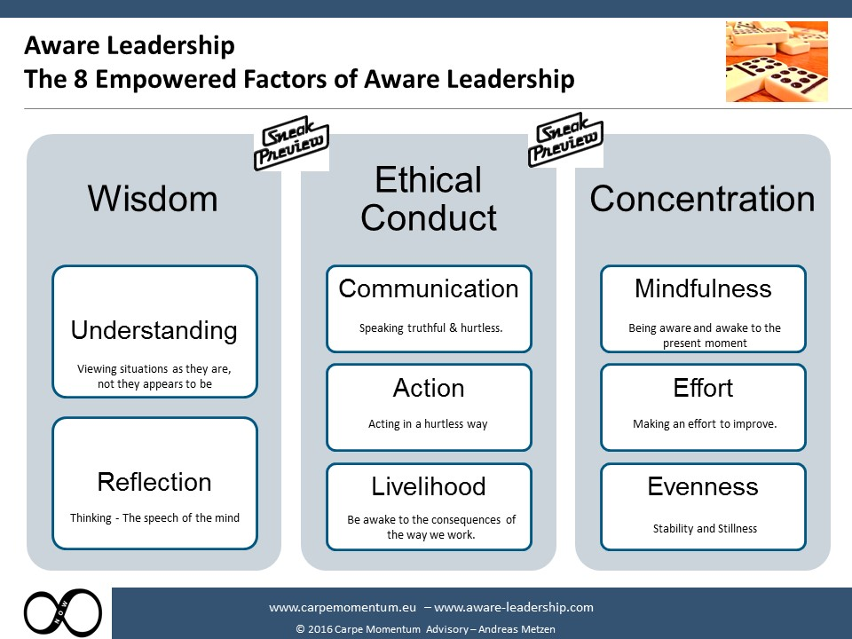 8 Empowering factors of Aware Leadership